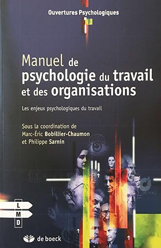 Manuel de psychologie 1ère de couverture