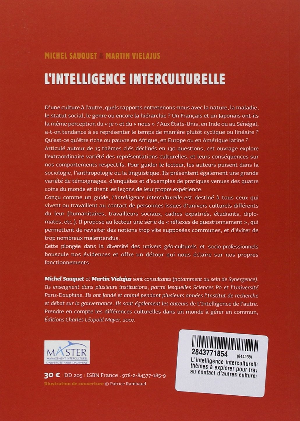 L'intelligence interculturelle 4ème de couverture