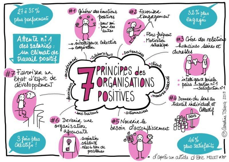 7 principes des organisations positives Eric Mellet